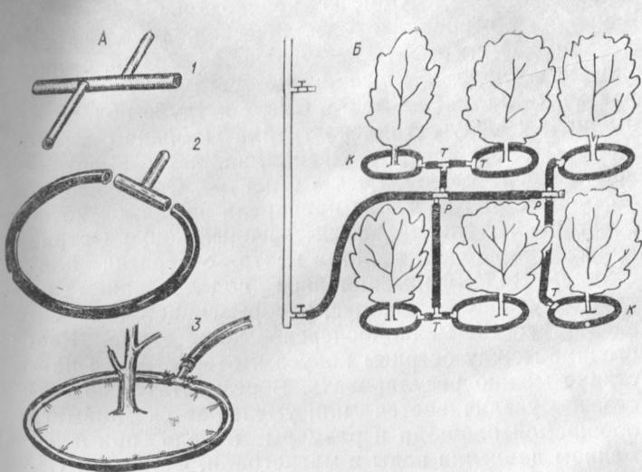 Капельное орошение для деревьев своими руками